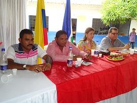 Audiencias públicas Santa Bárbara de Pinto, Santa Ana y Pijiño del Carmen