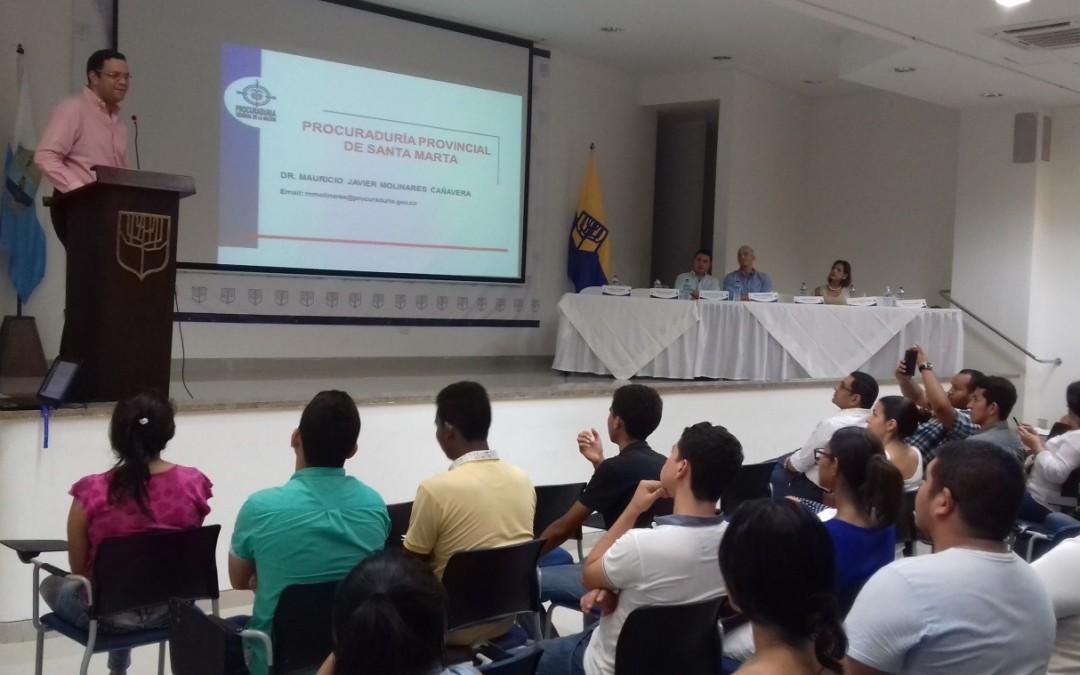Comisión de Moralización lidera charla contra la corrupción