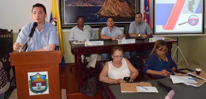 Contralor Departamental presentó informe ante la Asamblea