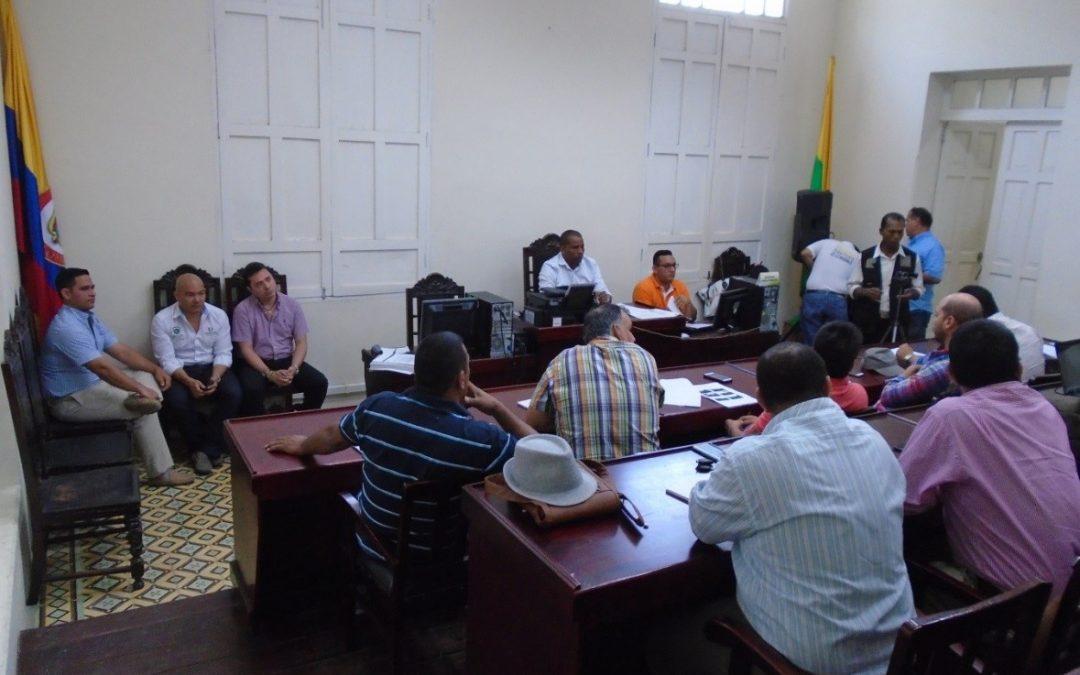 Contralor Departamental atiende denuncia en el Concejo de Ciénaga